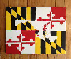 State Flags For Sale Maryland State Canvas Diy Crafts Maryland Cute Crafts