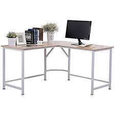 Desk L Shaped Topsky Computer Desk 55 X 55 With 24 L Shaped