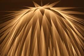 Paper Pendant Lights Paper Starburst Pendant Lighting Id Lights