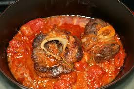 cuisiner jarret de boeuf jarret de boeuf à la tomate au four amafacon