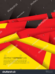 The Germany Flag Abstract Germany German Flag Vector Art Stock Vector 192179789