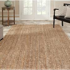 decor classic brown seagrass rectangular lowes indoor outdoor