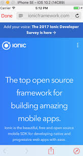 ionic inappbrowser tutorial ionic 2 framework safari view controller an inappbrowser for ios