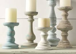 distressed candle holders candle holders coordinating colors