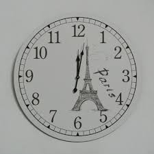 end of a single european style wooden wall clock wholesale home