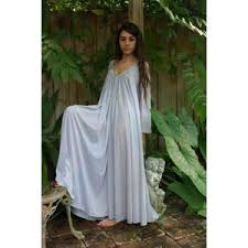 nightgowns for honeymoon peasant sleeve nightgown sleeve swing gray j
