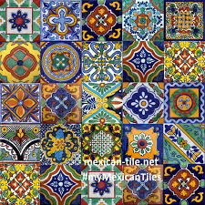 mexican talavera tile murals for kitchen backsplash wall