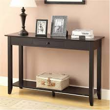 back of couch table console table long slim sofa with storage bench within couch back
