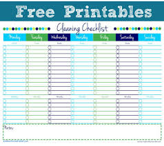 cleaning report template cleaning report template awesome free printable personal house