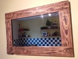Bathroom Mirror Frame Ideas Oak Framed Wall Mirror 58 Enchanting Ideas With Large Framed