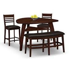 furniture triangle dining table with benches triangle dining
