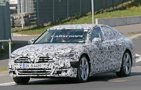 spied 2018 audi s8 gears up to take on merc u0027s s63 amg