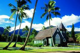 beautiful house in waioli huiia church hanalei kauai hawaii hd photo