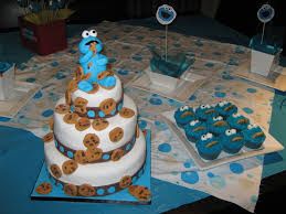 cookie monster 3 tiered cake cakecentral com