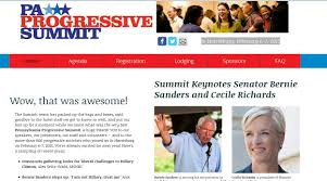 cecile richards of planned parenthood and bernie sanders lead