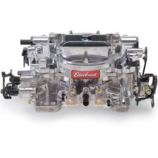 edelbrock 1805 thunder series avs 650 cfm carburetor with manual