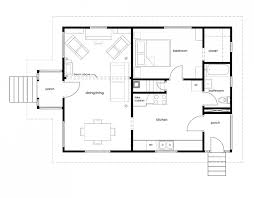 Sample House Floor Plan Example Of A House Plan Drawing