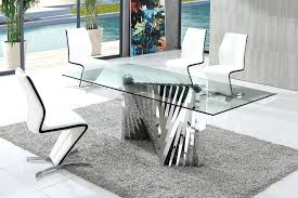 cheap glass dining room sets round glass dining set hangrofficial com