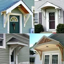 Cheap Exterior Door Front Door Awnings Wood Contemporary Awning Ideas Canopy House