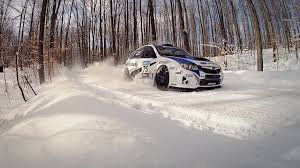 rally subaru snow subaru sti launch control rally america launch control episode 3