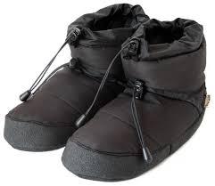 polar c booties black indoor outdoor slippers unisex