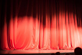 Theater Drop Curtain How To Make Stage Curtains Ebay
