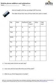 addition column addition worksheets free math worksheets for