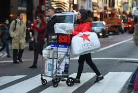 new yorkers still hit stores on black friday as more shop