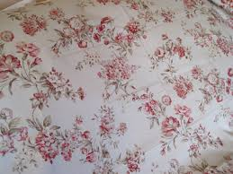 Fifth Avenue Home Decor Home Decor Fabric Floral On Natural Linen Background 5th Avenue