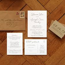 Order Wedding Invitations Love Letter Wedding Invitation Set And Save The Date By Feel Good