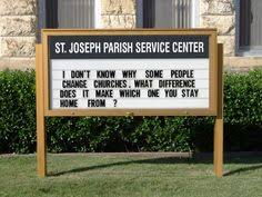 Thanksgiving Church Sign Sayings Perhaps It Is Obvious That I Find All Of These Hilarious Things