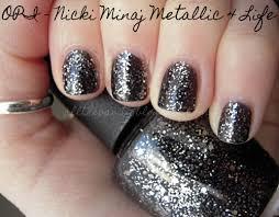 notd opi nicki minaj metallic 4 life all the vanity