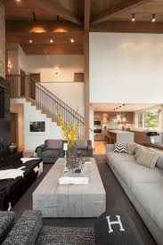 wood interior homes contemporary house interior design ideas modern house with photo