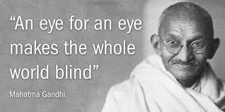 An Eye For An Eye Will Make The World Blind Yoko Ono On Twitter