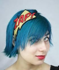 zap comic book headband basil s boutique