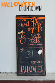Printable Halloween Countdown Calendar A Mommy U0027s Life With A Touch Of Yellow Chalkboard Halloween