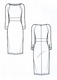 the spinsterhood diaries sample fashion project flat sketches