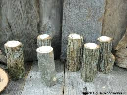 tree branch candle holder wooden candle holders qty rustic candle holders tree