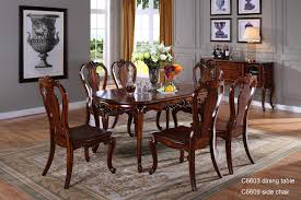 Traditional Dining Room Tables C6618 Wooden Traditional Indian Dining Table Dining Room