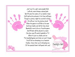 baby girl poems s girl baseball sports poem print baby handprints