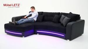 sofa mit beleuchtung laredo jockenhöfer sofa mit led beleuchtung und soundsystem