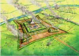 fortress siege siege of haddington 1548 earth and timber fortress