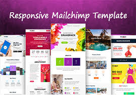 design responsive mailchimp template for 5 azher fivesquid