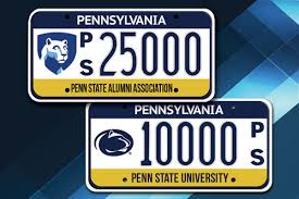 penn state alumni license plate penn state alumni association welcome
