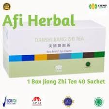 Teh Tiens tiens teh pelangsing jiang zhi tea teh tianshi 40 sachet daftar