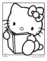 coloring pages hello kitty dr odd coloring home