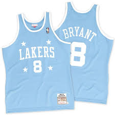 lakers light blue jersey mitchell ness kobe bryant los angeles lakers light blue 2004 2005