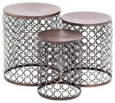 small round outdoor side table small outdoor accent tables patio end tables amp outdoor end tables