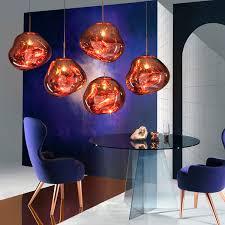 Tom Dixon Copper Pendant Light Tom Dixon Melt Copper Pendant Light Pendants Lighting Heal S
