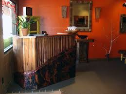 Custom Made Reception Desk Hand Crafted Copper Reception Desk By Mike Dumas Copper Designs